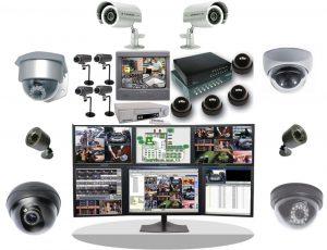 Varios tipos de Camaras CCTV