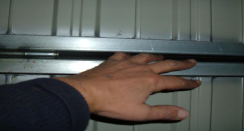 Puerta garaje con marcado CE