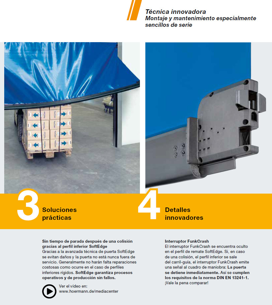 Puerta flexible Hormann